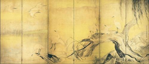 Tohaku_hasegawa__crows_and_herons_2