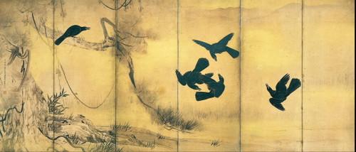 Tohaku_hasegawa__crows_and_herons_i